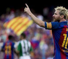 Messi Cetak Rekor Gol Lagi