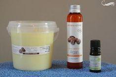 Faire sa crème à raser, ingrédients