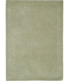 Heart Of House Arden Wool Rug 180 X 120cm Leaf Green At Argos