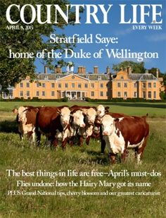 Houses for sale, properties for sale - Country Life Arthur Wellesley, Country Life Magazine, Busy Street, Hampshire, Duke, Property For Sale, Life Is Good, Magazines, Ipad