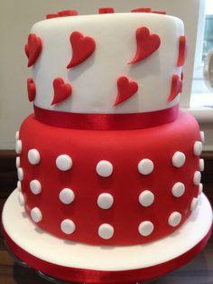 bolo decorado s valentim