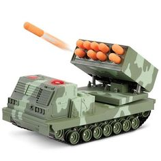 The RC Rapid Fire Rocket Launcher - A remote control battle tank with moving turrets capable of firing missiles at 15 feet away Modified Nerf Guns, Cool Nerf Guns, Hot Toys Iron Man, Nerf Toys, Buy Lego, Battle Tank, Minecraft Party, Cool Technology, Beach Trip