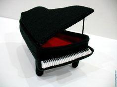 Crochet Pattern - PIANO - NEW - Toys - PDF