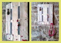 Joyero vertical hecho a mano. Materiales: tul blanco, fondo de una caja de fruta, lazo, cuelga fácil, pistola de pegamento y laca de uñas. Rápido, fácil y original. una manera de tener la bisutería organizada y a la vista, sin enredos, y ocupando poco espacio Jewelry vertically handmade . Materials: white tulle, box of fruit,hangers pictures, glue gun and nail polish. Fast, easy and original. a way to have jewelry organized, no tangles and use a little space