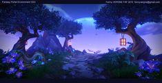ArtStation - Portal Environment 3D - Cry Engine 3, Fanny Vergne
