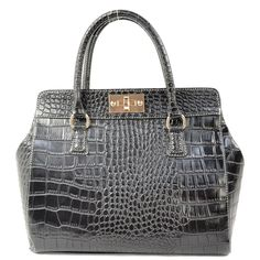 This celebrity style tote sure will match any of your outfit perfectly and will go well with any occasion. http://www.slotanna.com/high-fashion-croc-veins-pu-leather-tote-in-celebrity-style---black-p-1071.html