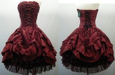 I love this dress. It's something I'd wear to a masquerade...