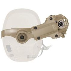 Allows for mounting to the rear of ARC Rails, leaving the top portion of the rails free for mounting accessories, such as lights, cameras, etc. Taktischer Helm, Tactical Wear, Hearing Protection, Military Gear, Head Shapes, Night Vision, Helmet, Amp, This Or That Questions