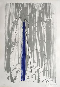 Barbara Hepworth 'Mykonos' lithograph, 1969