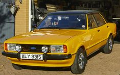 UK's rarest cars: 1978 Ford Cortina one of only two left on British roads Classic Cars British, Ford Classic Cars, British Car, Retro Cars, Vintage Cars, Posh Cars, Ford Anglia, National Car, Ford Escort