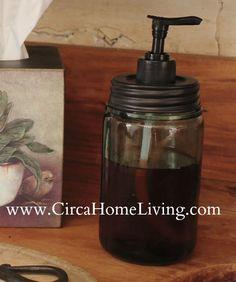 CT-SPD<br> Mason Jar Soap Pump