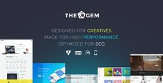 TheGem - Creative Multi-Purpose WordPress Theme TheGem is a versatile wp theme with modern creative design. Made as an ultimate toolbox of design elements, styles & features, it helps people to build impressive beautiful high-performant websites of any scope in minutes. Without touching a line of code. Don't waste time on coding, enjoy your creativity!