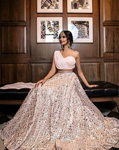 Indian Gowns Dresses, Indian Fashion Dresses, Dress Indian Style, Indian Designer Outfits, Pakistani Clothing, Indian Bridal Lehenga, Indian Bridal Outfits, Wedding Lehenga Designs, Designer Bridal Lehenga