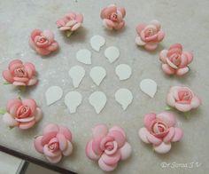Foamiran Flowers Tutorial : Roses