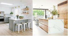 ¿Ponemos una barra en la cocina? 16 ideas geniales