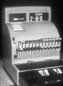 the first cash register I used in 1972.  I worked with my big brother and parents, in a fish and chip shop in Mount Isa.  I was 9,