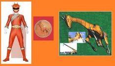 Orange Wild Force Ranger with his Animal Crystal and Giraffe Wildzord Orange Wild Force Ranger Power Rangers Força Animal, Power Rangers Mystic Force, All Power Rangers, Pawer Rangers, Rangers News, Power Rangers Megazord, Power Star, Hero Time, Charlie Video