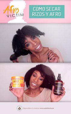 Método infalible para secar el pelo afro con secador 490ded3f7e0b