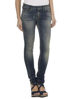 Denham Slim fit jeans met verwassen effect • de Bijenkorf