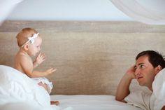 10 passos para estimular o bebê a falar