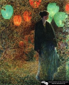 July Night by Frederick Childe Hassam