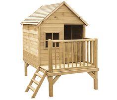 Caseta infantil de 2,86 m2 WINNIE - Leroy Merlin