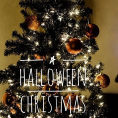 My fiance Jon is completely awesome! He came home and surprised Oliver and I with a black tree with orange balls. We are going to set up my d56 Halloween houses together as a family. 1 house a night! More pics to follow. #halloweenchristmas #love #blacktree #Christmas #doingourownthing