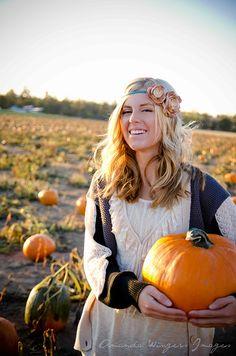 Pumpkin patch,  Wedding hair, Buttons N' Blossoms, Bend Oregon, Amanda Mae Images