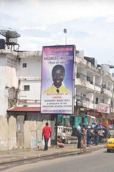 Best Student in Liberia – Mildred C. Willson .  #sahbusearch #liberia #signsofliberia #prideofliberia #beststudent