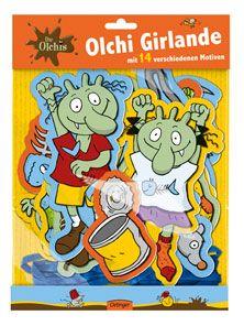 Die Olchis Girlande - Erhard Dietl