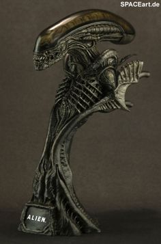 Alien 1: Big Chap Alien Warrior - Deluxe Büste ... http://spaceart.de/produkte/al004.php