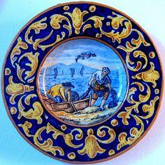 https://flic.kr/p/4o1Lpv | piatto ceramica campania 2 | ricordi in ceramica