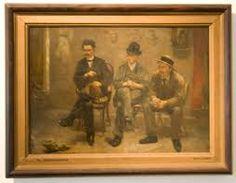 Kunstbeschouwing- Het goed bekijken en onderzoeken van beelden die men tot de kunst rekent: de inhoud van het beeld en beeldende middelen worden onderzocht.