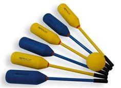 Knotshockey I Knotsbal I Tamponhockey I Bounceball set 12 sticks + 2 ballen Tableware, Dinnerware, Tablewares, Dishes, Place Settings