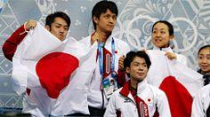 町田らフィギュア団体の選手