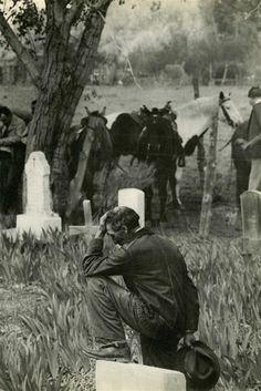 "Henri Cartier-Bresson (French, 1908 - 2004). ""Taos, New Mexico"". Original vintage photogravure. 1947."