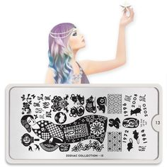 Nail Art Image Plates-Zodiac Collection 13