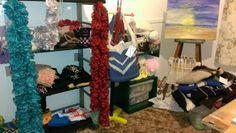Ruffle scarves $15.00 each. I will take custom orders. Email me justaskjackie@gmail.com