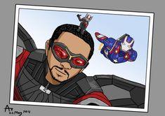 Le Faucon, Ant-Man et Iron Patriot