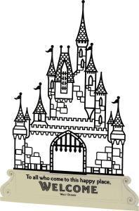 Disney Gifts - Castle Silhouette