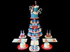 Connor & Hunter's Birthday Dessert Table » Cupcakes