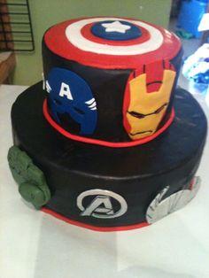 Avengers Cake — Children's Birthday Cakes