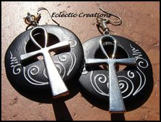 https://www.etsy.com/listing/123726733/silver-ankh-hand-painted-wood-earrings
