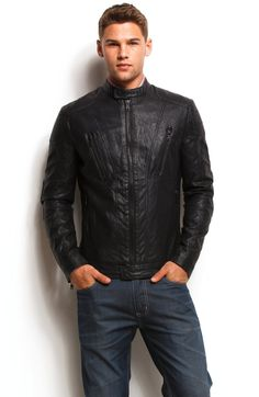 47d0800fe0246 55 Best Leather Jackets images   Jackets, Leather vest, Men wear