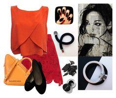 """White or Black?"" by colchico ❤ liked on Polyvore featuring Antonio Berardi, Rebecca Minkoff, Balenciaga, Chanel, jewelry, handmade, etsyshop and colchicojewels"