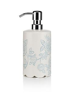 Floral Soap Dispenser | M&S