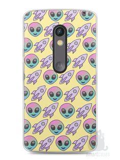 Capa Capinha Moto X Play Aliens e Foguetes - SmartCases - Acessórios para celulares e tablets :)