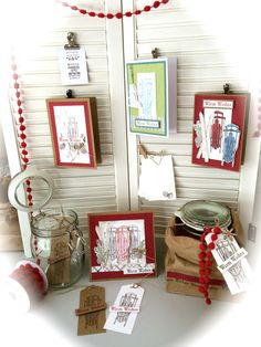 Display: Winter Wishes, Stampin' Up!