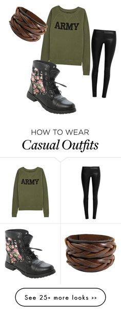 """""""Casual"""" by crystian01 on Polyvore"""