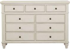 Lake Town Off-White Dresser - Dressers White